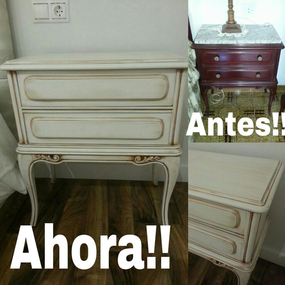 Restauracion de muebles antiguos for Renovar muebles antiguos