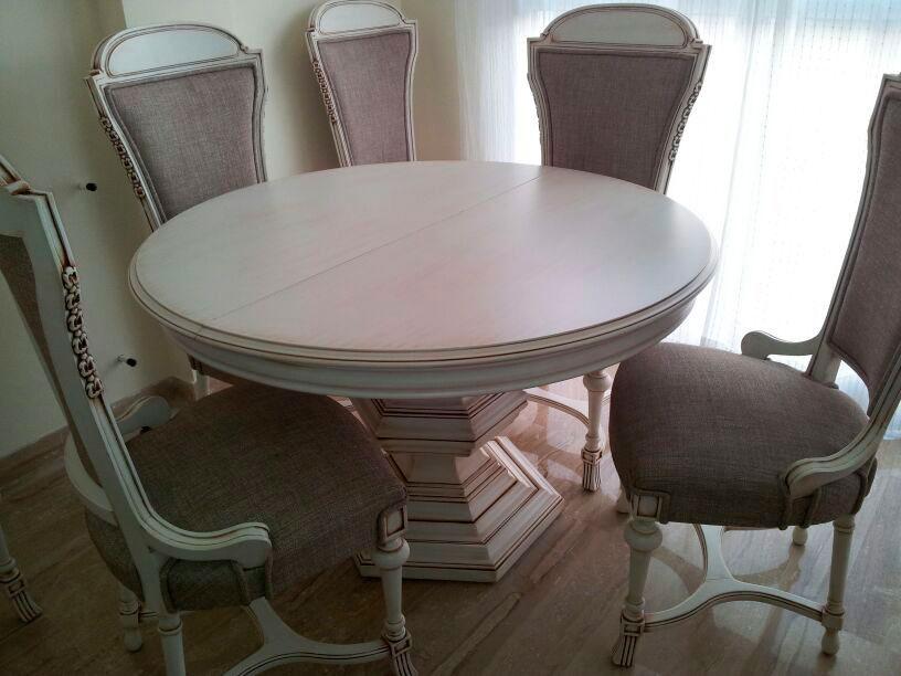 Domingo mesas efectos de lacado de muebles for Lacado de muebles